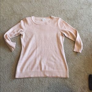 New York & Company, pale pink, 3/4 sleeve sweater